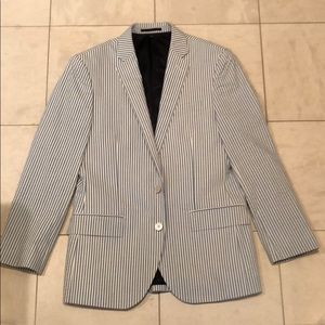 J. Crew Men's Seersucker Sport Coat